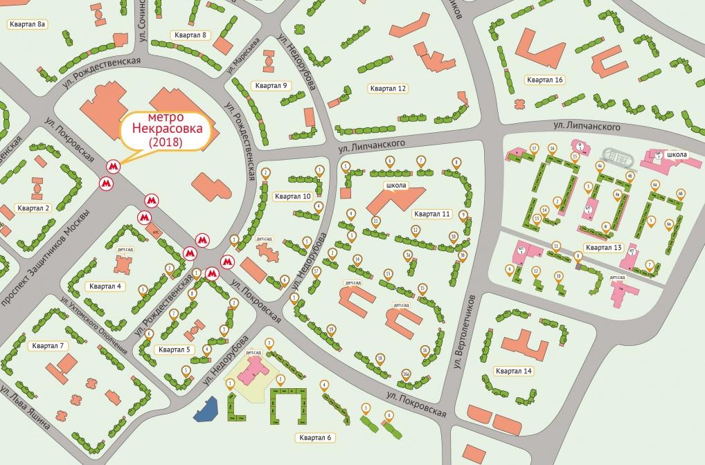 Жилой комплекс «Некрасовка» в 2018 году: новости, отзывы, цены квартир