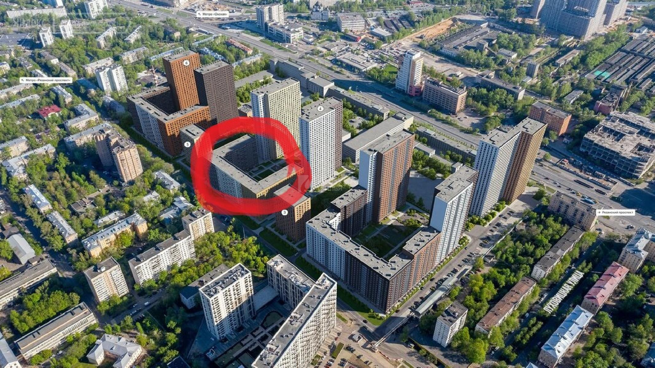 Фото №7 - 2-комнатная квартира, Москва, Институтская 2-я улица 6 корпус 4, метро Окская
