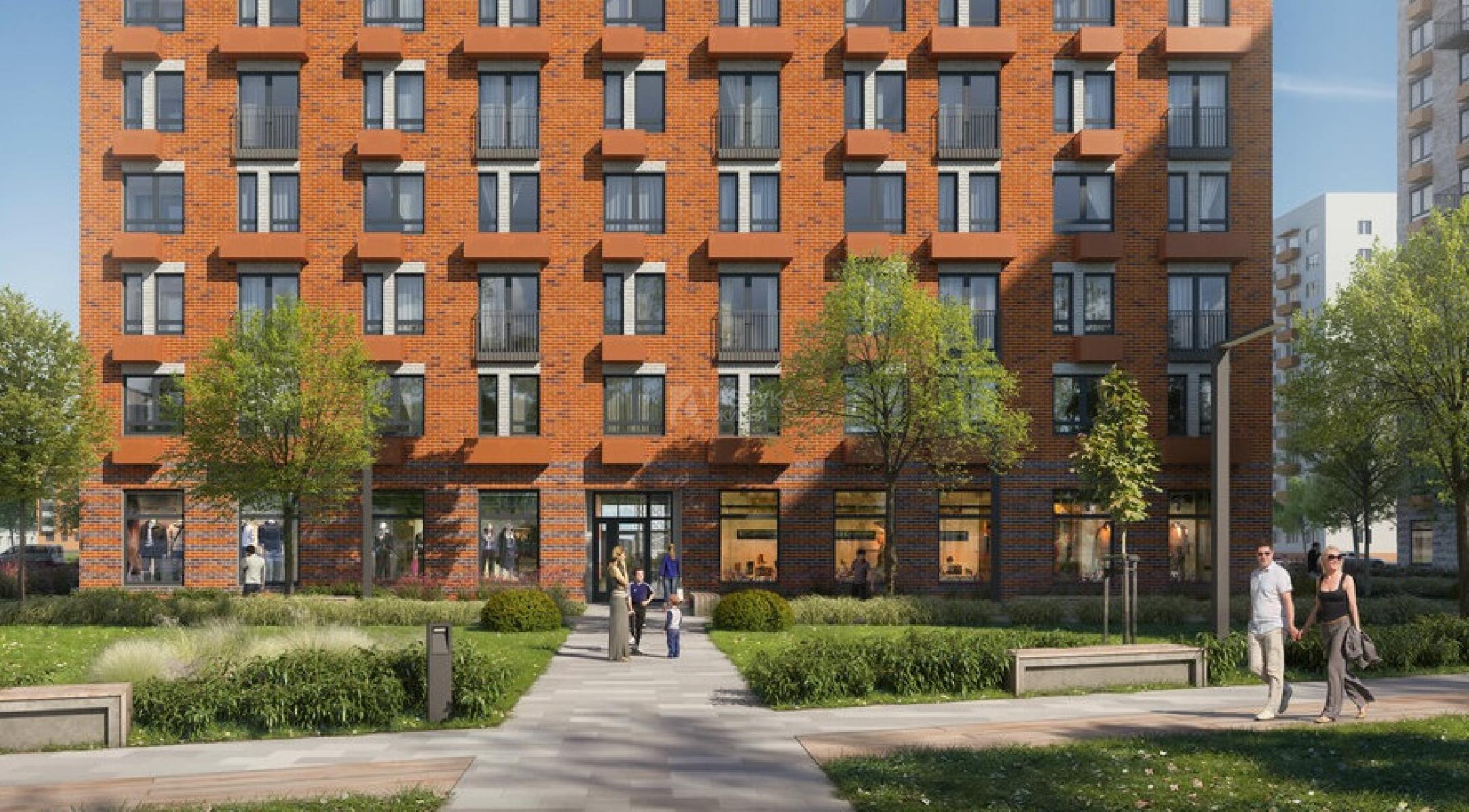 Фото №10 - 2-комнатная квартира, Москва, Институтская 2-я улица 6 корпус 4, метро Окская