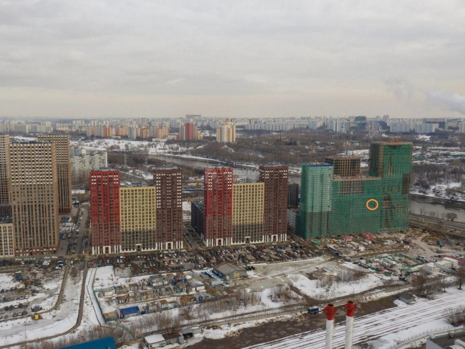 Фото №2 - 1-комнатная квартира, Москва, Донецкая улица 34 корпус 3, метро Марьино