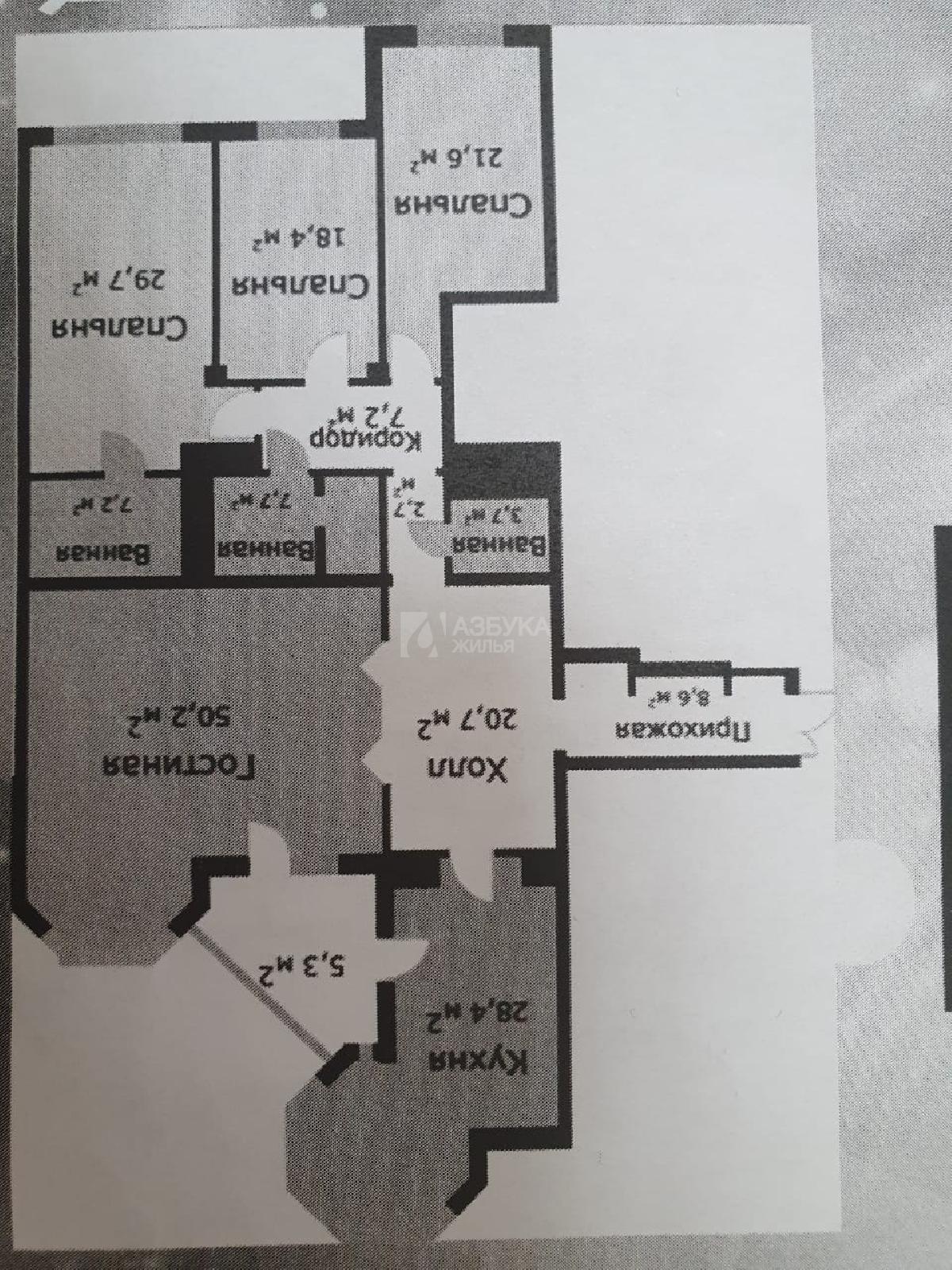 Фото №2 - 6-комнатная квартира, Москва, Архитектора Власова улица 6, метро Профсоюзная