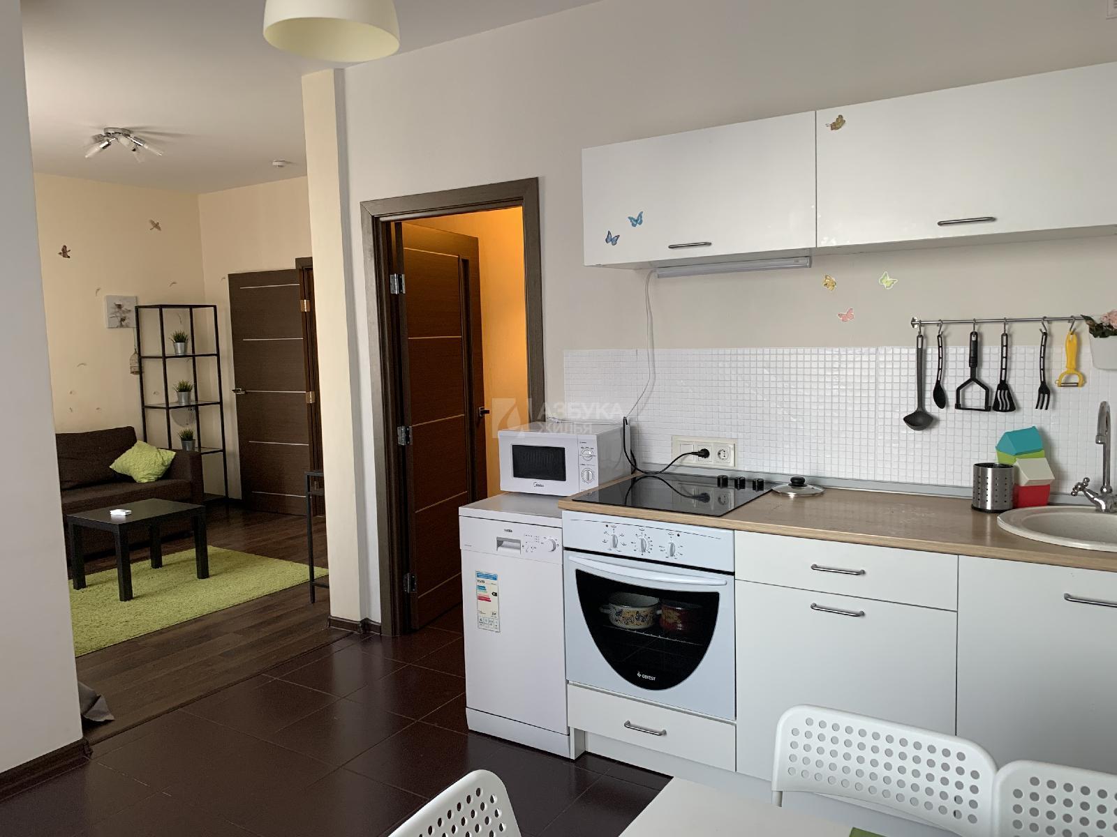 Фото №1 - 2-комнатная квартира, Москва, Митинская улица 28 корпус 2, метро Митино