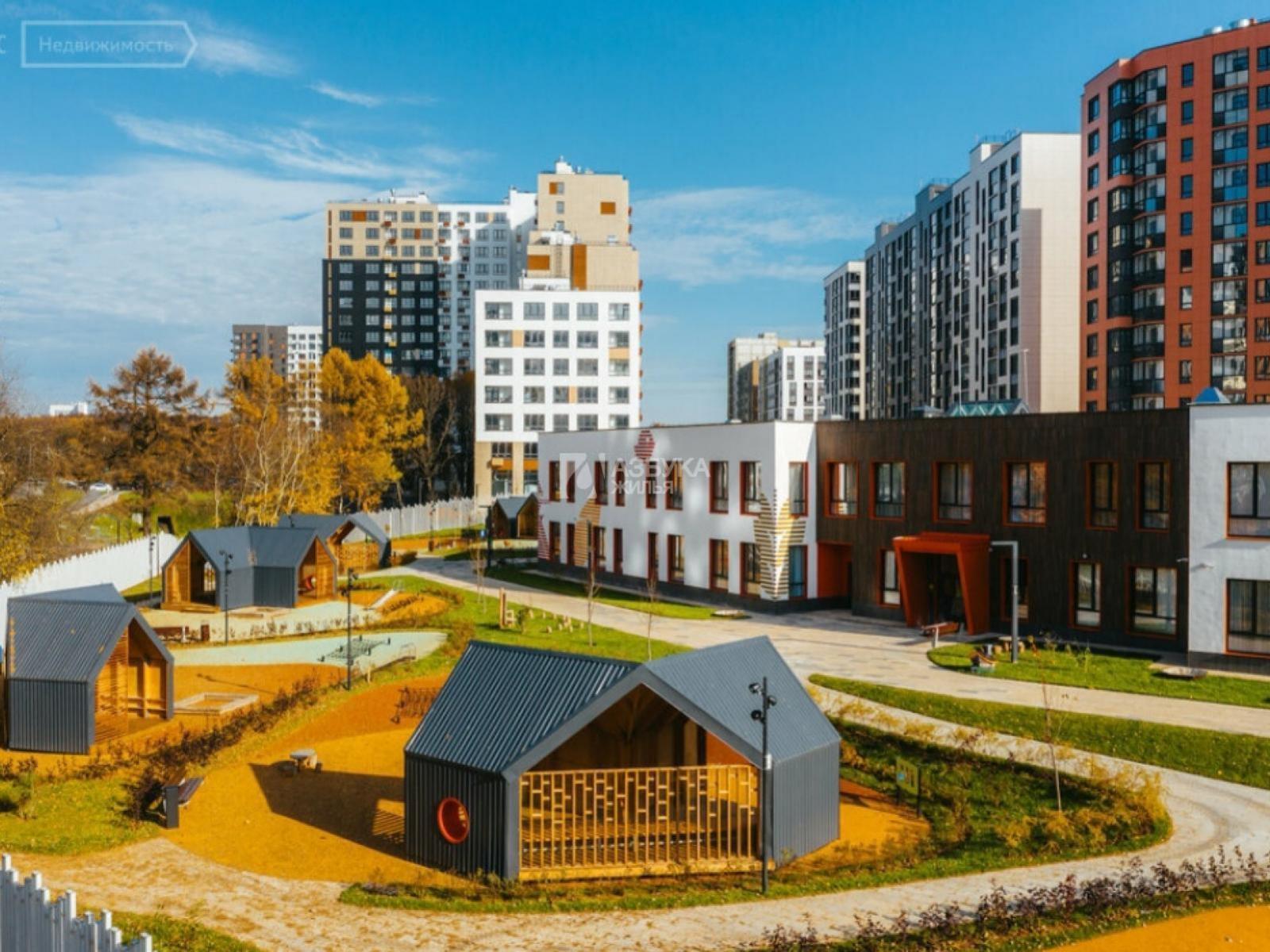 Фото №1 - 1-комнатная квартира, Москва, поселок Коммунарка, Александры Монаховой улица 43 корпус 1, метро Коммунарка