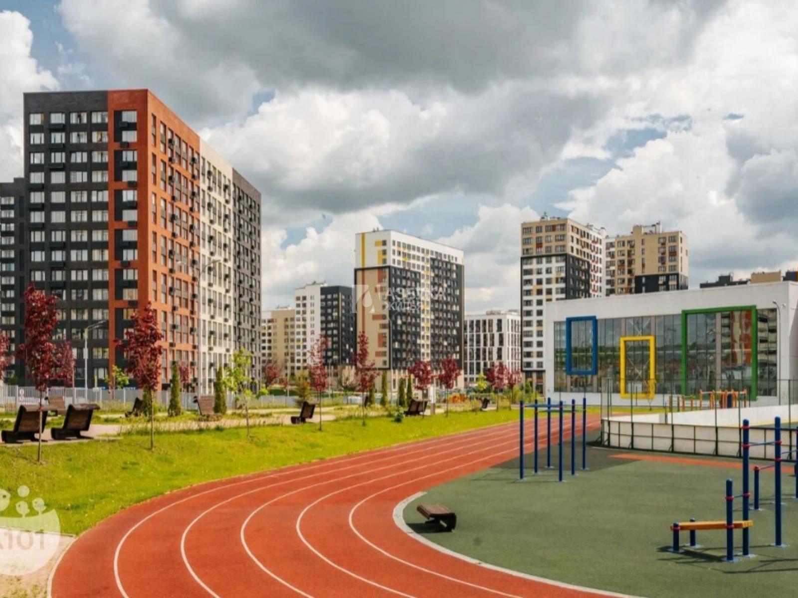 Фото №1 - 2-комнатная квартира, Москва, поселок Коммунарка, Александры Монаховой улица 43 корпус 1, метро Коммунарка