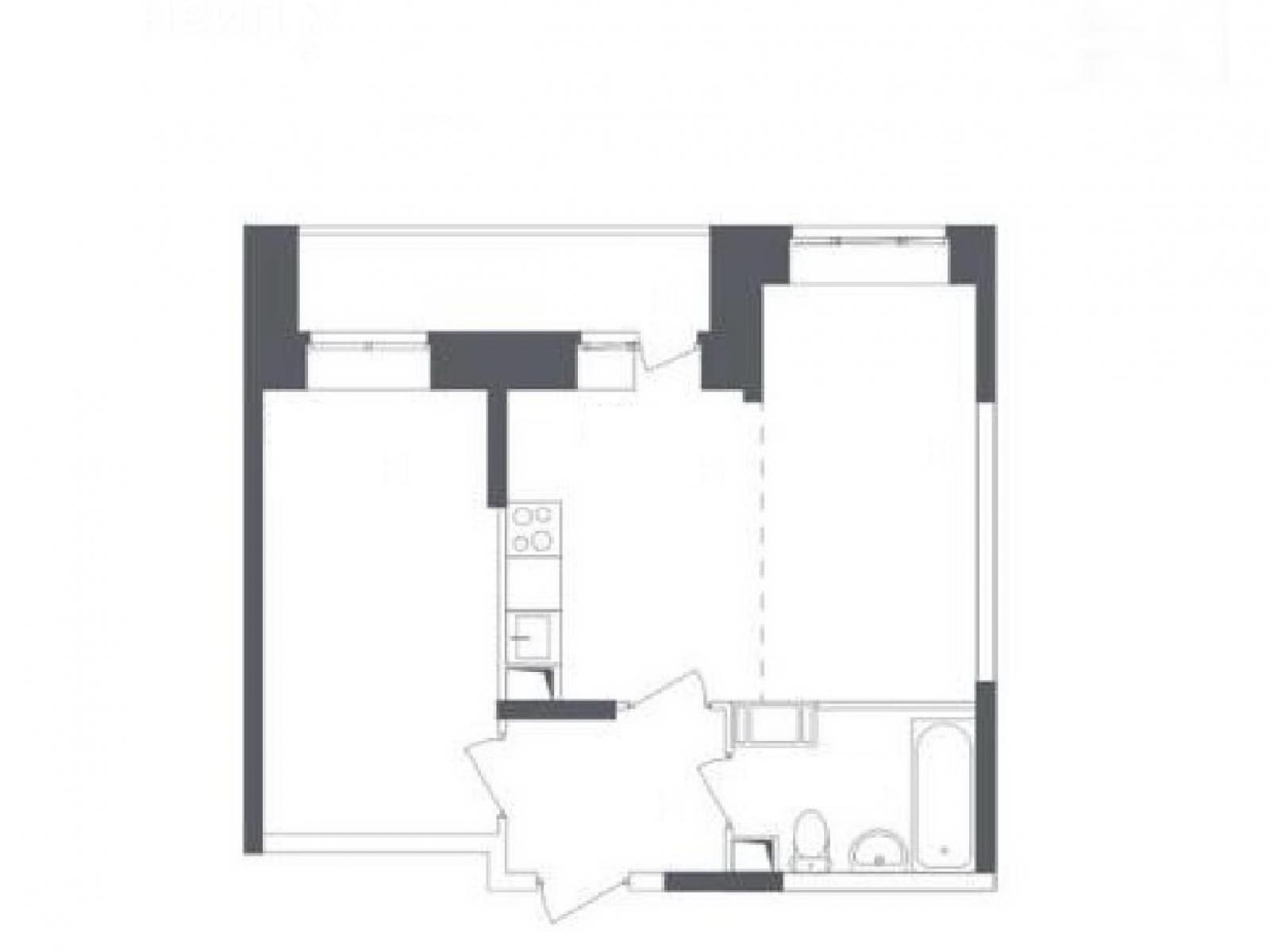 Фото №2 - 2-комнатная квартира, Люберцы, Камова улица 9 корпус 2, метро Некрасовка